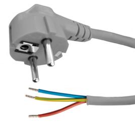 Kabel met stekker – 2 meter