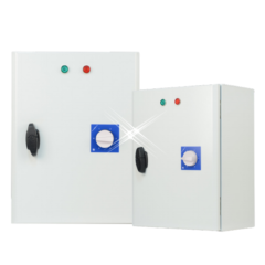 Traforegelaar 2.5 ampère – 3 fase met beveiliging