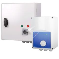 Traforegelaar 10.0 ampère – 1 fase met beveiliging