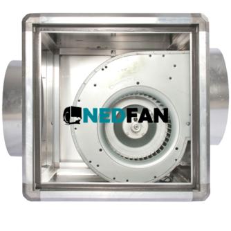 aluminium ventilatorbox